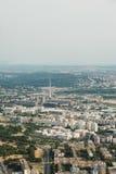 Opinião aérea da skyline - paisagem da cidade Imagens de Stock Royalty Free