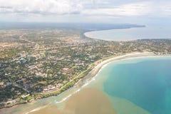 Opinião aérea Dar Es Salaam fotos de stock royalty free