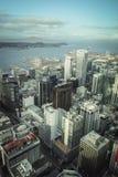 Opinião aérea de Auckland, Nova Zelândia foto de stock