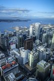 Opinião aérea de Auckland, Nova Zelândia fotografia de stock royalty free