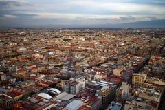 Opinião aérea de Cidade do México Fotografia de Stock Royalty Free