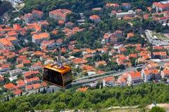 Opinião aérea de Dubrovnik Imagem de Stock Royalty Free