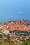 Opinião aérea de Dubrovnik Fotos de Stock Royalty Free