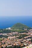 Opinião aérea de Dubrovnik Fotografia de Stock Royalty Free