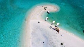 Opinião aérea de Maldivas foto de stock