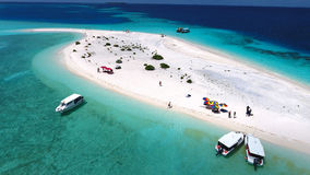 Opinião aérea de Maldivas fotos de stock