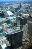 Opinião aérea de Melbourne imagem de stock