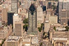 Opinião aérea de Montreal Foto de Stock Royalty Free