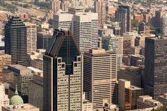 Opinião aérea de Montreal Fotografia de Stock
