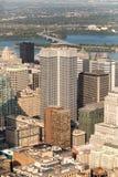 Opinião aérea de Montreal Imagens de Stock