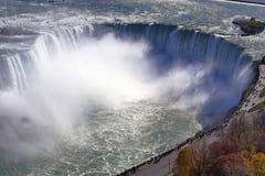 Opinião aérea de Niagara Falls foto de stock