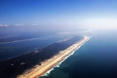 Opinião aérea de Oceano Atlântico Fotos de Stock
