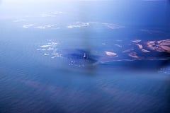 Opinião aérea de Oceano Atlântico Foto de Stock Royalty Free