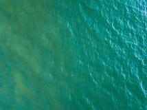 Opinião aérea de superfície do mar Fotografia de Stock Royalty Free