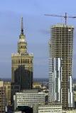 Opinião aérea de Varsóvia Fotos de Stock