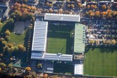 Opinião aérea do estádio de Freiburg Imagens de Stock