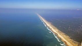 Opinião aérea do oceano de Atalntic Imagens de Stock