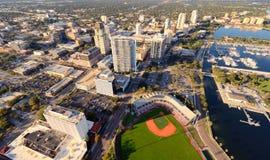 Opinião aérea do St. Pete Fotos de Stock