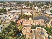Opinião aérea do zangão do niarela Bamako Mali Imagem de Stock