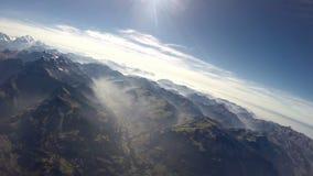 opinião aérea dos cumes 360°+ Fotos de Stock Royalty Free