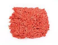 Opinião aérea magra de carne à terra imagens de stock royalty free