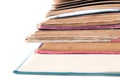 Opinião aberta dos livros Fotografia de Stock Royalty Free