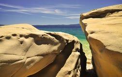Opinião adriático da natureza da costa Imagens de Stock Royalty Free