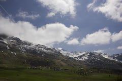 Opinião Alp Flix Fotos de Stock