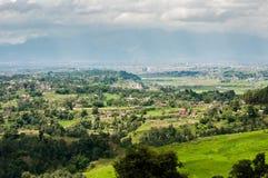 Opinião alta de Nepal Fotografia de Stock Royalty Free