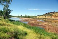 Opinião australiana do rio foto de stock