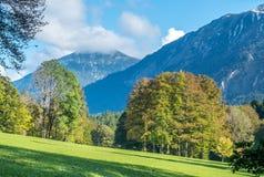 Opinião bonita da paisagem de Alemanha Imagem de Stock
