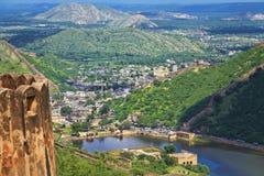 Opinião da paisagem do forte de Jaigarh Imagem de Stock Royalty Free