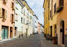 Opinião bonita da rua em Parma Imagens de Stock Royalty Free