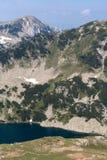 Opinião bonita de lagos Vlahini, montanha do verão de Pirin Imagens de Stock