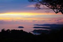 Opinião bonita de mar de Andaman Foto de Stock Royalty Free