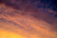Opinião bonita do céu fotos de stock
