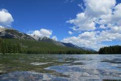 Opinião bonita do lago perto da água Fotografia de Stock