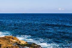 opinião bonita do mar Imagem de Stock