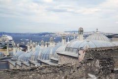 Opinião bonita do mar em Istambul Imagens de Stock Royalty Free