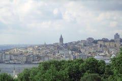 Opinião bonita do mar em Istambul Fotos de Stock