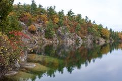 Opinião bonita do outono Imagem de Stock Royalty Free