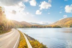 Opinião bonita do outono Fotos de Stock Royalty Free
