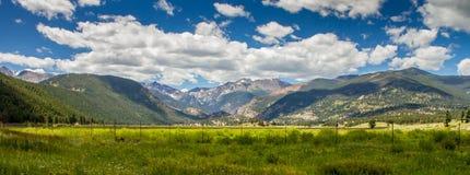 Opinião bonita Rocky Mountain National Park Fotos de Stock
