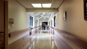 Opinião brilhante do corredor do hospital filme