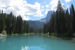 Opinião brilhante do lago Imagens de Stock