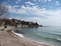 Opinião Bulgária do beira-mar fotos de stock