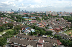Opinião cénico da cidade de Kuala Lumpur Fotos de Stock