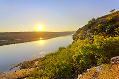 Opinião cénico do beira-rio foto de stock royalty free