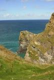 Opinião cênico do clifftop Fotografia de Stock Royalty Free