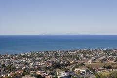 Opinião Catalina tomada de San Clemente Fotografia de Stock Royalty Free
